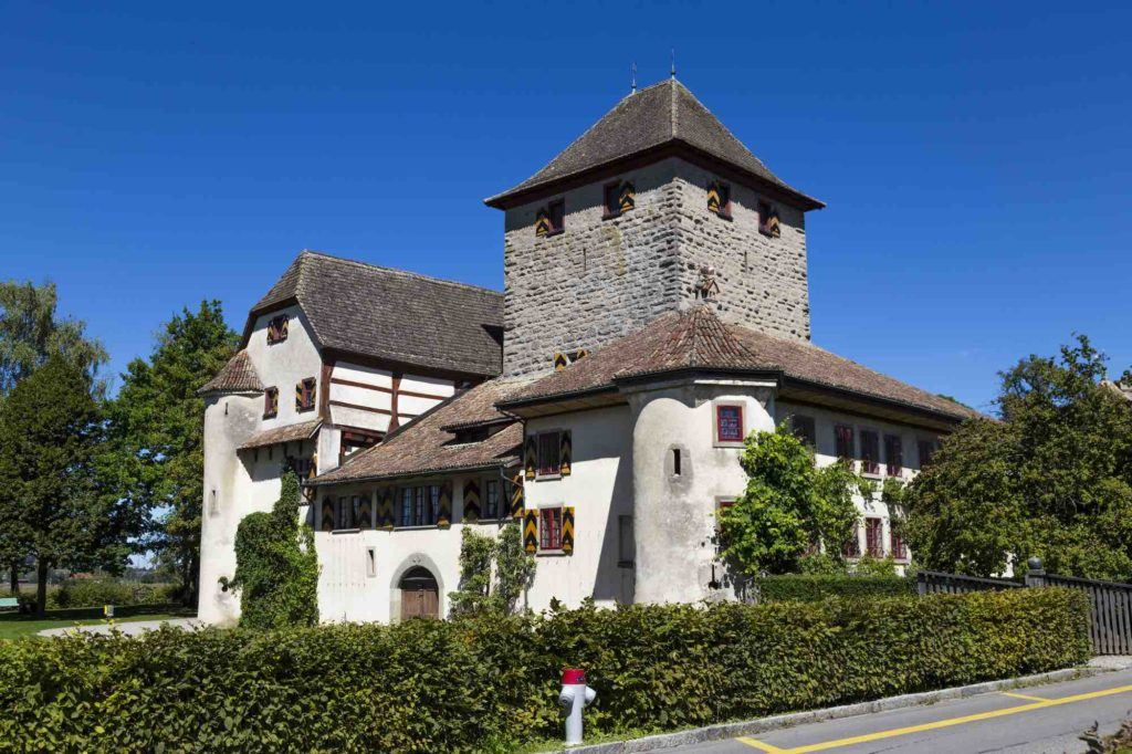 Blick auf Haus in Winterthur