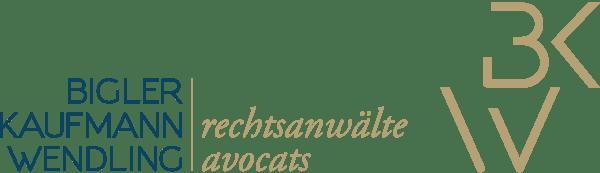 Logo Bigler Kaufmann Wendling Rechtsanwälte